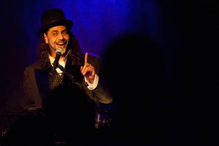 Eduardo Rangel volta ao palco do Sebinho